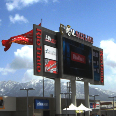 rio tinto stadium sign