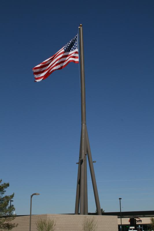 Concealment Flag Pole