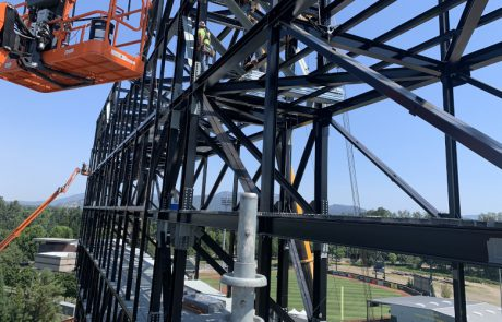 structural engineer steel connection