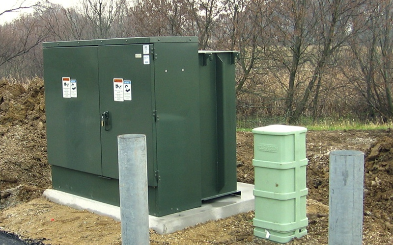 electrical transformer box